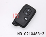 Car 3 Button Smart Key Shell for toyota