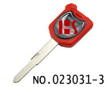 Thailand Honda, Guangzhou Wuyang Honda ect.motorcycle Magnetic Keys (red, left slot)