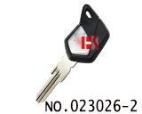 Piaggio motorcycle transponder key shell(black)