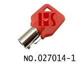 Harley Motorcycle Cylinder Key(Red)