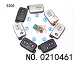 Toyota Car 2-4 Button Smart Key (314mhz)