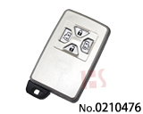 Toyota Car 4 Button Smart Key Shell (bilateral door)