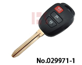 Toyota Camry Car 2+1 Button Remote Key Shell Key Case