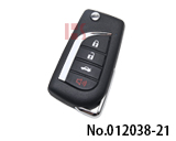 Xhorse - Universal Type Remote in 14 Toyota Model XKTO10EN