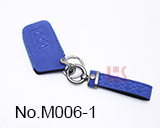 New Toyota and Lexus 3-button smart key case (navy blue)