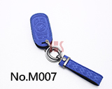 New Buick 5-Button Smart Key Microfiber Key Case ( Dark Blue)