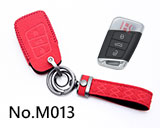 New Volkswagen Passat,Sagitar,Magotan,B8 3-button smart key case(red)