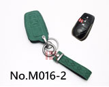 2018 TOYOTA Camry,Corolla,Crown 3-button smart key case(dark green)