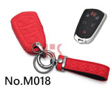 New Cadillac 5-button smart key case(red)