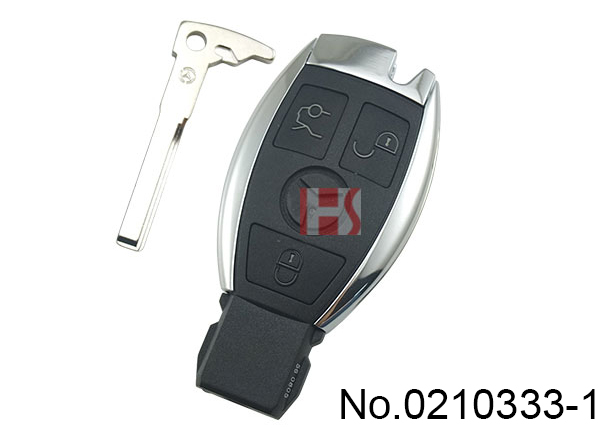 Benz Semi-Intelligence BE 3 Button Key (433 MHZ)