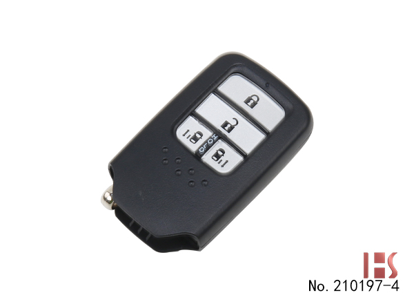 Honda Civic 10th Generation 4-button Smart Key Shell (double door button)